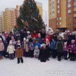 Новогодние ёлки с КПРФ-07