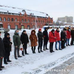 Возложение у памятника В Ленина-001