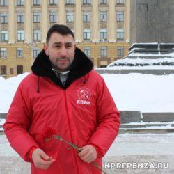 Возложение у памятника В Ленина-008