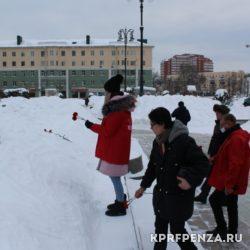 Возложение у памятника В Ленина-011