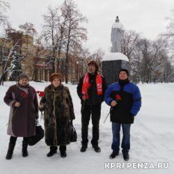 Возложение у памятника В Ленина-014