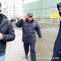 Полицейские – задержание-01